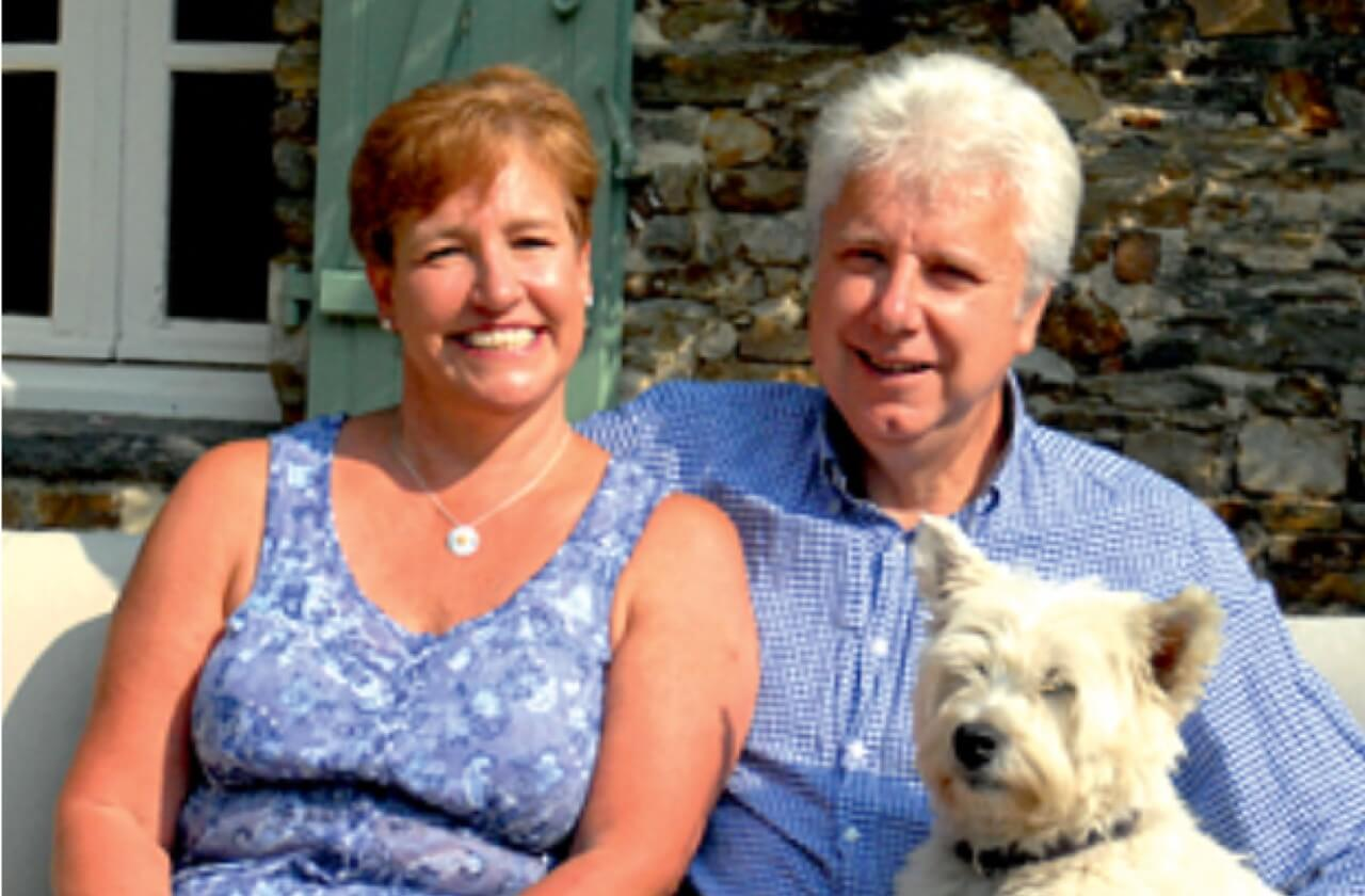 Susan and Roger are the owners of La Marmoire, bed and breakfast in Châteaubriant.